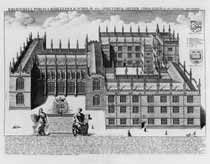 View a Map of Oxford University for the 17th Century - John Speed 1612.